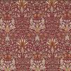Tyg William Morris - Snakeshead - William Morris snakeshead Röd