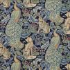 Tyg William Morris - Forest Linne - Tyg William Morris - Forest Linne Blå