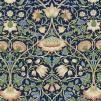 Tyg William Morris - Lodden - Tyg Lodden Mörkblå