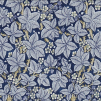 Tyg William Morris - Bramble - William Morris Bramble Mörkblå