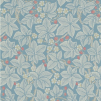 Tapet William Morris - Bramble - William Morris Bramble Ljusblå
