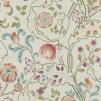 Tapet William Morris - Mary Isobel - William Morris Mary Isobel Rödorange
