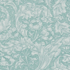 Tapet William Morris - Bachelors Button - William Morris Bachelors Button Turkos