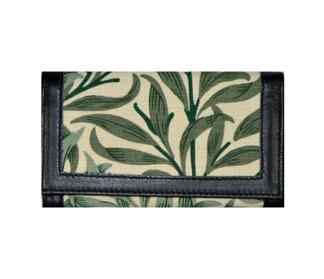 Plånbok William Morris - Willow Bough Mörkgrön