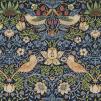Gardinlängd William Morris - Strawberry Thief Mörkblå - Längd < 3,45 SBT Mörkblå