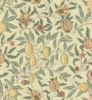 Gardinlängd William Morris - Fruit Minor - Längd < 1,85 Fruit Minor