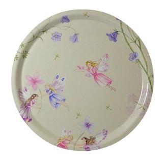 Rund 31 bricka Kids Collection - Fairyland Vit