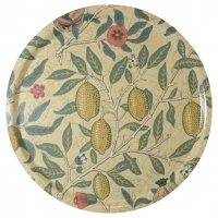 Rund bricka 46 William Morris - Fruit