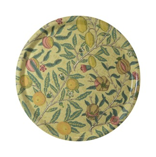 Rund bricka 31 William Morris - Fruit Minor