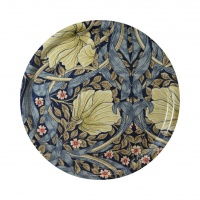 Rund bricka 31 William Morris - Pimpernel Blå