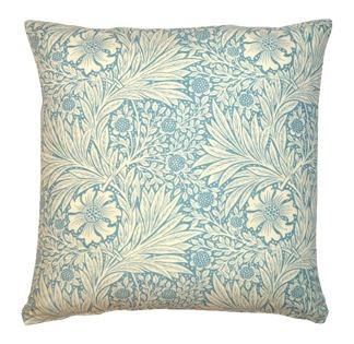 Kudde William Morris - Marigold Ljusblå