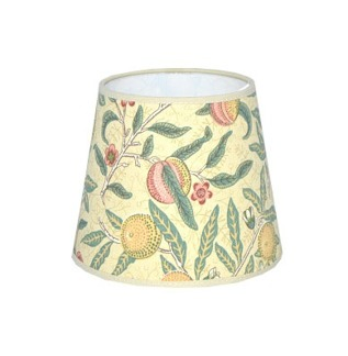 Lampskärm William Morris - Fruit Minor Rund 14