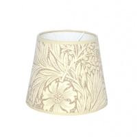 Lampskärm William Morris - Marigold Rund 14 Beige
