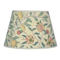 Lampskärm William Morris - Fruit Minor Oval 17