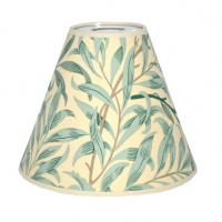 Lampskärm William Morris - Willow Bough med Toppring 19 Ljus