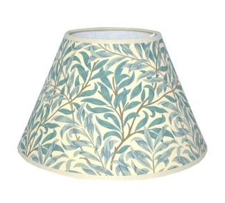 Lampskärm William Morris - Willow Bough Minor Rund 17 Grön