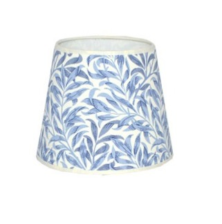 Lampskärm William Morris - Willow Bough Minor Rund 14 Blå