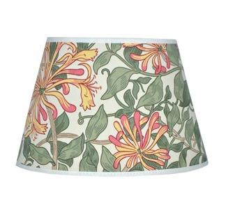 Lampskärm William Morris - Honeysuckle Oval 17
