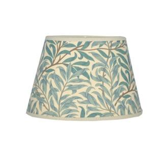 Lampskärm William Morris - Willow Bough Minor Oval 14 Grön