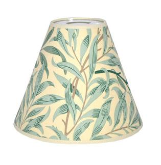 Lampskärm William Morris - Willow Bough med Toppring 19 Ljus