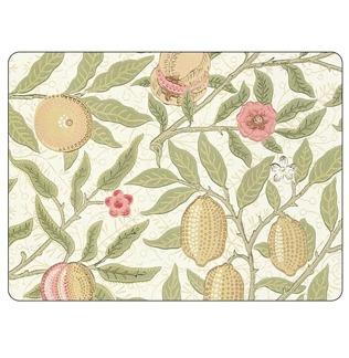 Bordstablett William Morris - Fruit vit