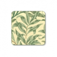 Coasters William Morris - Willow Bough Grön