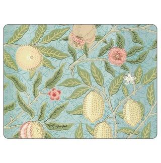 Bordstablett William Morris - Fruit Blå