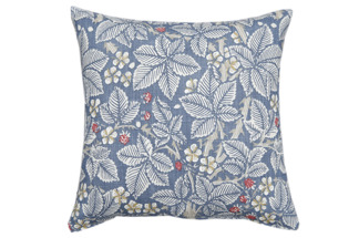 Kudde William Morris - Bramble Ljusblå
