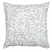 Kudde William Morris - Willow Bough Broderad Beige