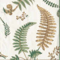 Pappersservett Caspari -  Fern