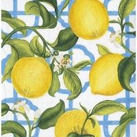 Pappersservett Caspari -  Citron