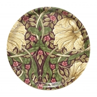 Rund bricka 31 William Morris - Pimpernel Aubergine
