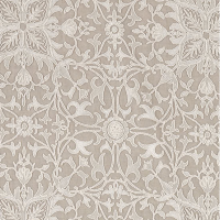 Tyg Pure William Morris - Net Ceiling Broderad