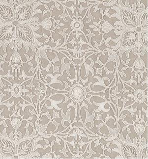 Tyg Pure William Morris - Net Ceiling Broderad