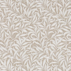 Tyg Pure William Morris - Willow Bough Broderad - Tyg Pure William Morris - Willow Bough Broderad BeigeVit