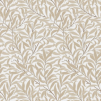 Tyg Pure William Morris - Willow Bough Broderad - Tyg Pure William Morris - Willow Bough Broderad VitBeige