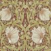 Tapet William Morris - Pimpernel - Tapet William Morris - Pimpernel Brick/Olive