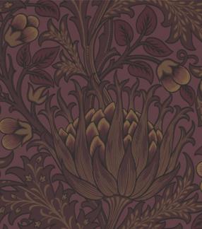 Tapet William Morris - Artichoke - Tapet William Morris - Artichoke Wine