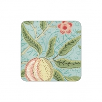 Coasters William Morris - Fruit Blå
