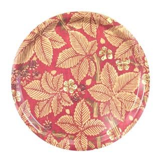 Rund bricka 31 William Morris - Bramble Röd