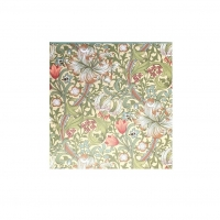 Noteringsblock med penna William Morris - Golden Lily Creme