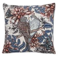 Kudde Nadja Wedin - lovebirds sammet Vit