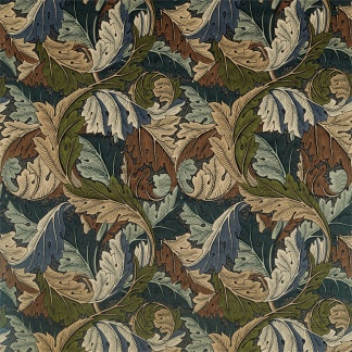 Tyg William Morris - Acanthus - Tyg Acanthus Blå