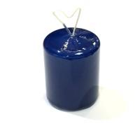 Bordsljus 4x5 cm Mörkblå lack