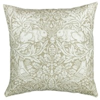 NEW! Kudde William Morris Pure - Breer Rabbit Beige