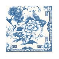 Pappersservett Caspari - Blue & White