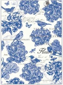 Kökshandduk Michel Design Works - Indigo Cotton - Kökshandduk Michel Design Works - Indigo Cotton
