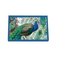 Decoupage Bricka Michel Design Works - Peacock