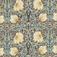 Gardinlängd William Morris - Pimpernel Brun
