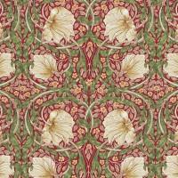 Gardinlängd William Morris - Pimpernel Röd